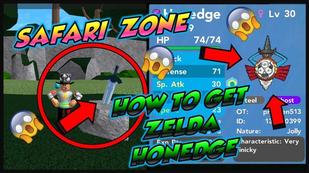*UPDATE* HOW TO GET ZELDA HONEDGE IN POKEMON BRICK BRONZE ...