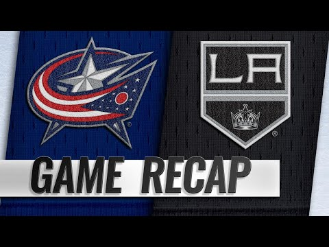 Brown, Campbell lead Kings to 4-1 win over Jackets