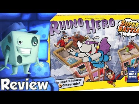 Rhino Hero: Super Battle Review - with Tom Vasel