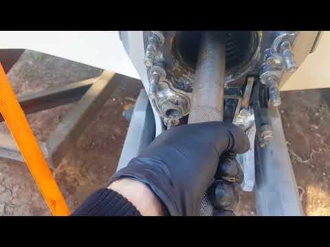 OMC Cobra Volvo Penta SX Transom/Engine Out of Alignment