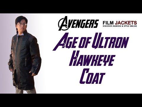 Hawkeye   FJackets - Avengers Age Of Ultron Hawkeye Coat Review