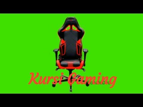 Youtuber Channel Green Screen Kursi Gaming - Chair - YouTube