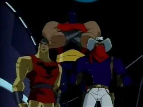 Atom Smasher on Justice League Unlimited