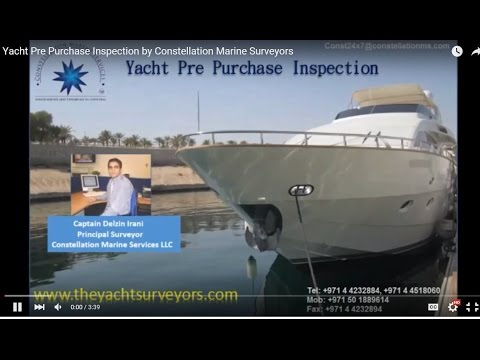 Yacht Pre Purchase Inspection by Constellation Marine Surveyors