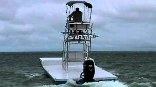Catamaran Coaches New 20x10 Flats fishing boat