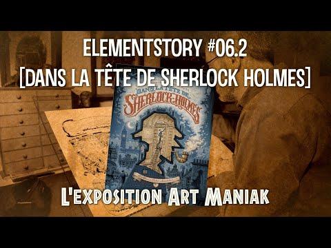 """BD - Exposition """"Dans la tête de Sherlock Holmes"""""""