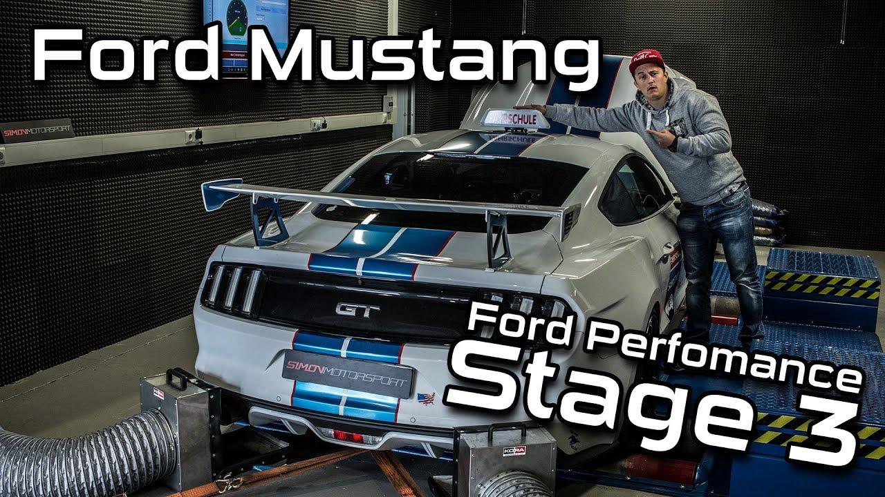 Ford Mustang GT 5.0 Stage 3 Leistungssteigerung 513PS | Fahrschule ...