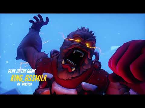 (LATE UPLOAD) OVERWATCH YETI HUNT FUNNY MOMENTS