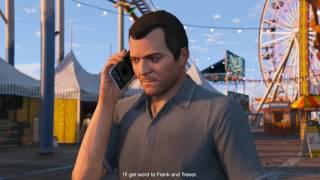 GTA 5 Story #32 - Michael giải cứu cho gia đình và chuẩn bị xe cho phi vụ cướp vàng | ND Gaming