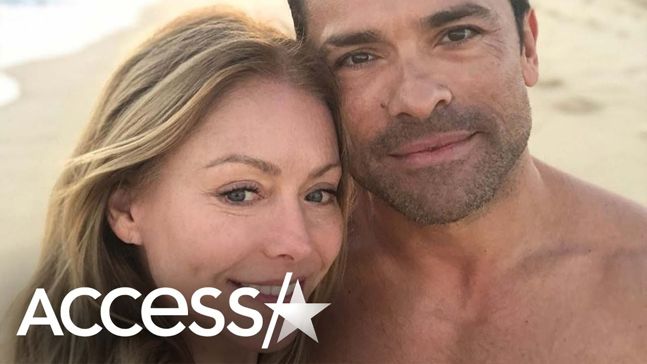 Kelly Ripa Shows Mark Consuelos Some Love In Beach Day Selfie: '#MCM Now And Forever'