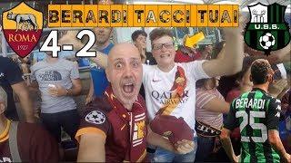 MKHITARYAN AL DEBUTTO! STO MAAAALEEEE!! - Roma-Sassuolo 4-2 | REACTION dallo STADIO OLIMPICO