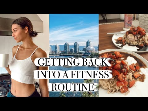 Getting Back Into A Fitness Routine (trying to) + New lululemon