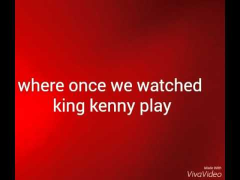 Anfield road chant lyrics