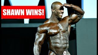 Shawn Rhoden is your NEW Mr. Olympia!