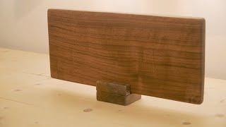 주방용품 DIY 02 : 어머니 선물로 호두나무 도마 …