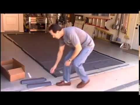 How To Assemble The Clean Park Garage Mat