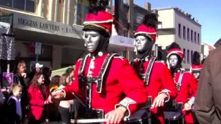Waratah Drumcorps Winter Magic Parade 2014