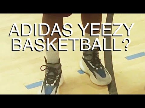 more photos 35b31 4efde ADIDAS YEEZY BASKETBALL SHOES? | Kanye West Debuts New Footwear