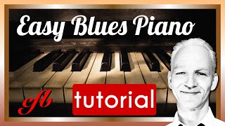 Learn Blues-Piano! The entry to playing Blues