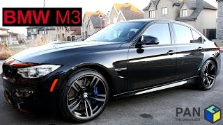 BMW M3 :  FULL DETAIL OF A BLACK CAR