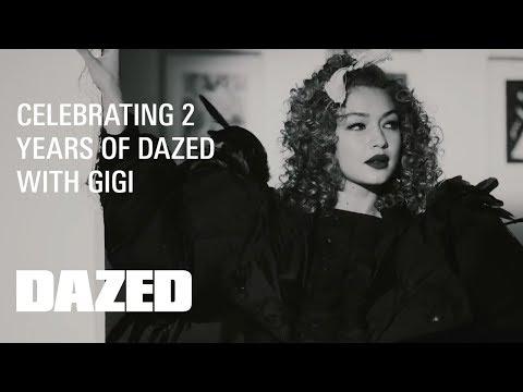 Gigi Hadid breaks into the Dazed magazine office! - A film by Rankin