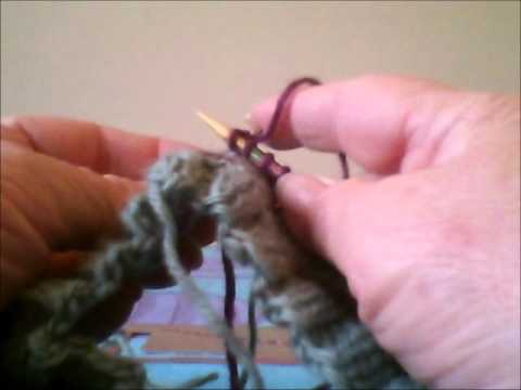 Part 3 How To Knit A Hat Using Knit 2 Purl 2 Ribbing On Circular