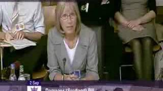 Dr Pamela Abernethy (lawyer, Simpson & Marwick WS, Edinburgh) - Asbestos related Pleural Plaques 'are good'