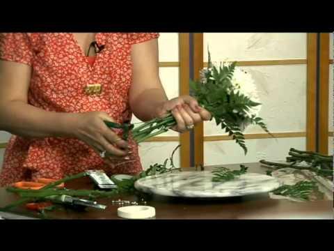 Cách cắm hoa cô dâu   Hoa Cúc