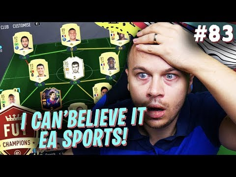 FIFA 20 MY FUT CHAMPIONS WAS RUINED BY EA SPORTS AGAIN! THIS IS UNACCEPTABLE!