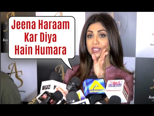 Shilpa Shetty SLAMS Media Reporters For Harassing On Airport