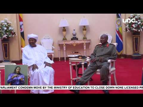President Museveni meets 20 investors from Sudan, to invest in gas and petroleum refinery