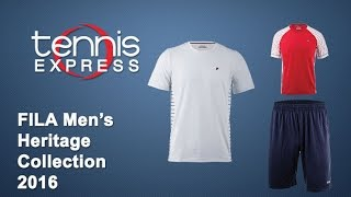 Fila Mens Heritage Collection 2016 | Tennis Express