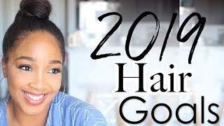 Relaxed Hair Goals for 2019 | Long Healthy Relaxed Hair Journey