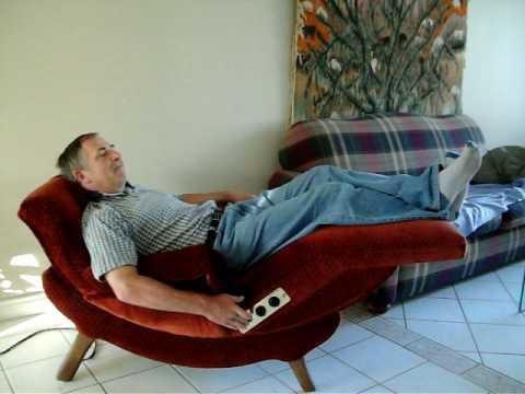 Vintage Contour Lounge chair  YouTube