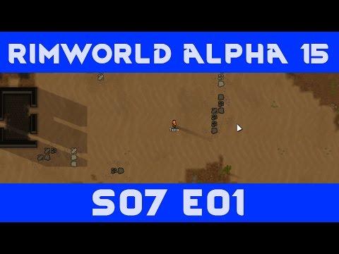 Absolutely Nothing Szenario |S07|E01| - RimWorld Alpha 15 Starting with Nothing [Hardcore Mode]