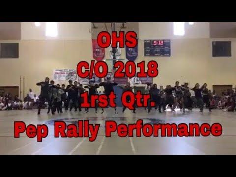 Okkodo High School's Class of 2018 SY 2017-2018 First Quarter Pep Rally Performance