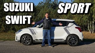 2018 Suzuki Swift Sport (ENG) - Test Drive and Review Video