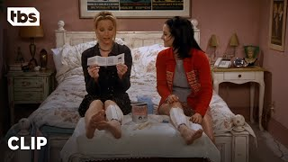 Friends: Monica and Phoebe Try an As-Seen-On-TV Waxing Kit (Season 3 Clip)   TBS