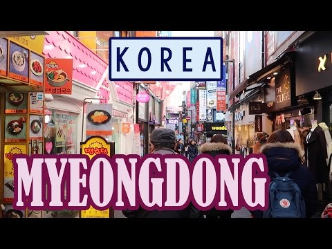 Shopping in Myeongdong | KimDao in KOREA