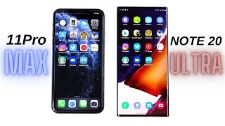 iPhone 11 Pro Max vs Galaxy Note 20 Ultra Speed Test!