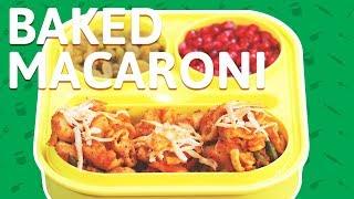 Baked Macaroni And Cheese Pasta   Veg Macaroni Pasta Recipe   Quick & Easy Pasta Recipe