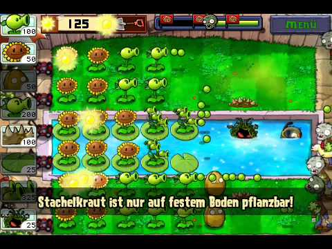 plants vs zombies lösung