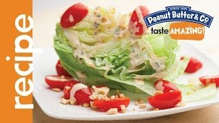 Spicy Peanut Butter Ranch Salad Dressing Recipe
