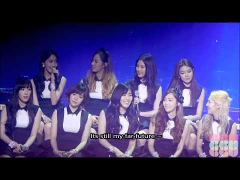 [ENG] SNSD Sketchbook Talk on  Favourite Songs