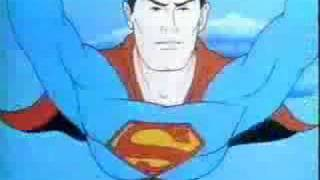 The original Superman cartoon opening