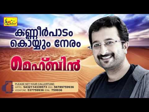 കണ്ണീർ പാടം | Hit Song Of Nikhil | MEHBIN | Super Hit Mappila Album | Nikhil
