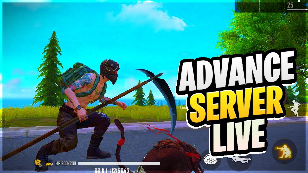 ADVANCE SERVER FREE FIRE LIVE || Desi Army