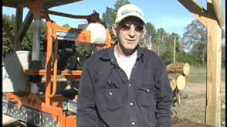 Norwood Portable Sawmill Owner, Tony Word, Speaks About His Lumbermate Pro Mx34