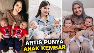 7 ARTIS PUNYA ANAK KEMBAR, BIKIN GEMES DAN BAHAGIA ! | BERITA ARTIS TERBARU HARI INI DI INDONESIA