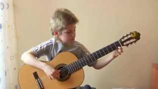 Мелодия, Н.Кошкин. Красивая джазовая пьеса на гитаре. N.Koshkin, Melody.